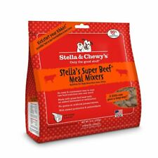 Stella and Chewy's Freeze-Dried Raw Super Beef Meal Mixers for Dogs 8 ounce