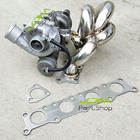 SS304 Equal Length Exhaust Manifold + K04 Turbo for VW Passat / Audi A4 1.8T 20V