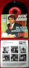 Single Adamo: Notre Roman (Electrola E 23 557) D 1966