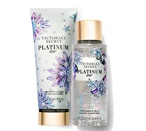 Victoria's Secret Platinum Ice Fragrance Lotion + Fragrance Mist Duo Set