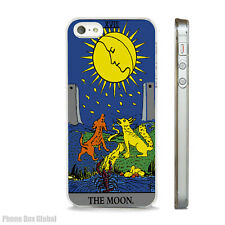 NEW THE MOON TAROT CARD PHONE CASE FITS IPHONE 4 4S 5 5S 5C 6 6S 7 8 SE PLUS X