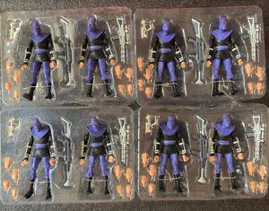 2-Pack NECA Teenage Mutant Ninja Turtles Genuine Foot Soldiers 7'' Action Figure