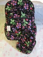 Vera Bradley Indio Campus Tech School Laptop Travel Backpack