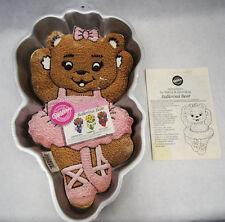 Ballerina Bear Cake Pan iwth Insert & Booklet  from Wilton - 2021