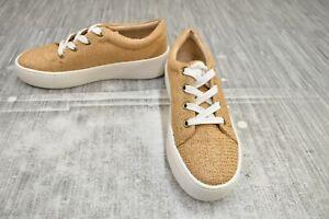 Aerosoles Term Paper Comfort Sneakers - Women's Size 5M, Natural NEW