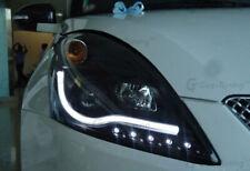 Headlights Suzuki Swift Daylight 2010 - 2017 Black LED