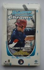 2011 Bowman Chrome Baseball Factory Sealed Hobby Box TROUT HARPER RC