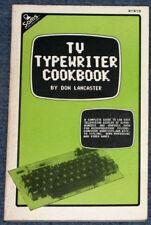 1977 TV Typewriter Cookbook Scelbi 8H Mark-8 SWTPC CT-1024 MITS Altair 8800