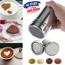 Stainless Steel Cocoa Shaker Powder Chocolate Icing Sugar Flour Sugar Coffee