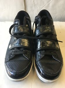 PRE OWNED MENS PUBLIC ROYALTY MIDTOP SHOES *BLACK SIZE:9