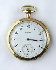 1911  E Howard 19j 12s  Series 7  Crescent Case  (Gold Filled?)  POCKET WATCH