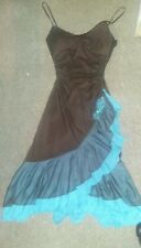 Dress with sequined flowers /Gown  Size Small NWT