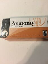 Vintage Visual Education Academic Study Card Set Vis-Ed Anatomy the Muscles Nib