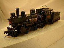 Bachmann 4-4-0 Logging Steam Locomotive - DCC and sound  -custom weathered-LOT 5