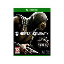 Pal version Microsoft Xbox One mortal Kombat X