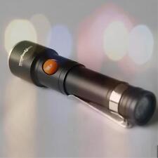 2000LM XML T6 LED Impermeable Brillante Linterna linterna Ligero Brújula G1
