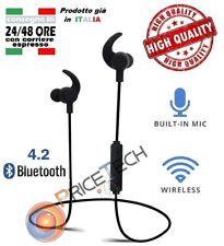Auricolari Flex In-Ear Originali Cuffie Wireless per Samsung S8 S8+ Note 8