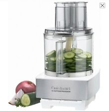 Cuisinart 14 Cup Food Processor Brushed Stainless Steel White DFP-14BCWNY
