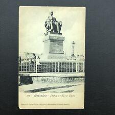 Vintage old postcard Egypt , Alexandria Nubar Pacha EP109