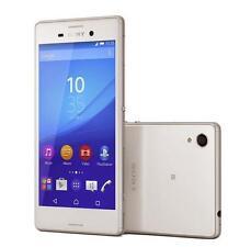 "New Unlocked Sony Xperia M4 Aqua Dual E2363 16GB 5.0"" 13MP GPS Smartphone White"