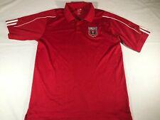 Men's D.C United Red Soccer Team Polo Medium Adidas MLS
