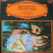 BOSTON SYMPHONY ORCHESTRA - CHARLES MUNCH - BEETHOVEN OVERTURES - LP