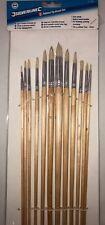 Silverline Pointed Tip Brush Set 675298