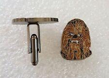 Pair of stylish Star Wars Chewbacca Cufflinks