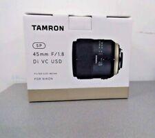 Tamron SP 45mm F/1.8 Di VC USD Lens For Nikon (F013)
