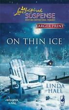 On Thin Ice (Love Inspired Large Print Suspense)