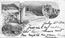 1902 Tampalis Tavern Marin California Private Multi View Mitchell Postcard 5767
