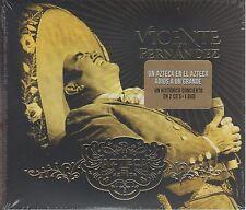 2 CD's + 1 DVD*** Vicente Fernandez CD Un Azteca En El Azteca ULTIMO CONCIERTO