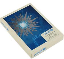 Hallmark Star Peace UNICEF Boxed Christmas Card Set 12 Cards 13 Envelopes