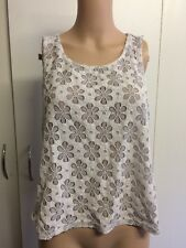 Size L Dotti Floral Top In Great Care