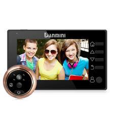 "4.3"" LCD 160 Degree Metal Peephole Camera Viewer Door Eye Doorbell Home Security"