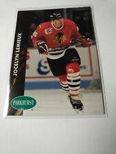 1992-93  Pro Set - Parkhurst Jocelyn Lemieux Chicago Blackhawks #256