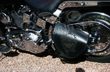 Harley Davidson pour Cuir Sacoche Bras Oscillant Face Simple Sac Panier