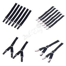 Straight & Y Style Elastic Garter Belts Corset Holders Sock Stockings Fastener