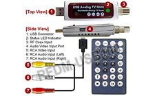Coax RF RCA A/V To USB Converter For PC + Digital MPEG Video Recorder