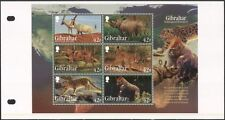 Gibraltar 2012 Rhino/lince/leopardo/Gorila/Wolf/animales/naturaleza M/S Pack (s6392j)