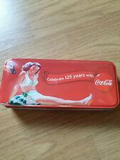 Boite métal Coca Cola 125 years - bic & porte-mine - collector - rare - neuf