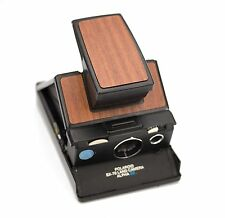 Polaroid SX-70 Black Body - Cherry Wood Replacement Cover
