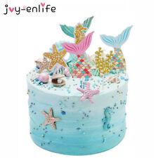 Cake Topper Mermaid 5pcs