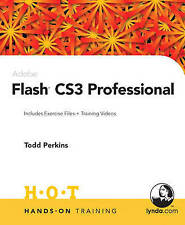 USED (LN) Adobe Flash CS3 Professional Hands-On Training by Todd Perkins