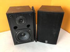 Yamaha Stereo Speakers Black Model NS-AP2800BLF Bookshelf Surround Theater