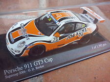1/43 PORSCHE 911 997 GT3 GT 3 SUPER CUP 2006 N°76 MINICHAMPS NEUVE BOITE ORIGINE