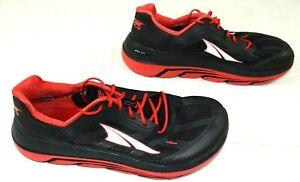 Altra Duo Running Shoes Lightweight Zero Drop Red Black AFM1838F-6 Men's Sz 9.5