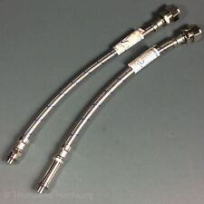 Tap Tails M12 Flexible Tap Connector Pair Monobloc Tap to 15mm Pipe 300mm Long