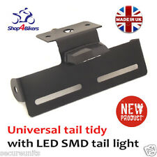 universal tail tidy number plate holder rsend tailtidy with SMD LED light TT2