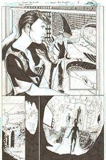 Batman: Dark Knight #18 p.18 - Bruce Wayne, Batwing, Batcave by Ethan Van Sciver Comic Art
